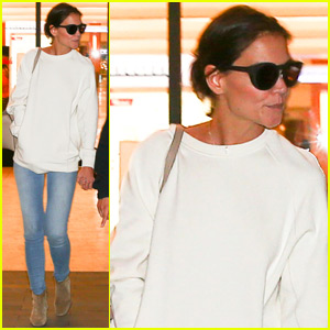 Katie Holmes Steps Out After Leah Remini's Scientology Revelations
