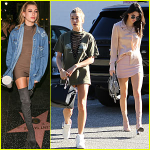 Birthday Girl Hailey Baldwin Shops with Kendall Jenner