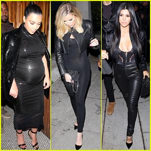 Kim, Kourtney, & Khloe Kardashian Celebrate Kendall Jenner's 20th Birthday with the Family!