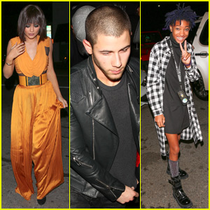 Kylie Jenner Parties With Nick Jonas & Willow Smith at Kendall's 20th Birthday Bash