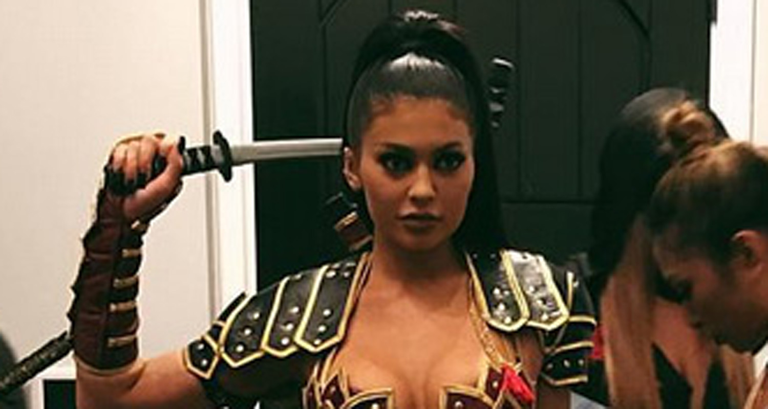 Xena Warrior Princess Costume Kylie Jenner Shows Off...