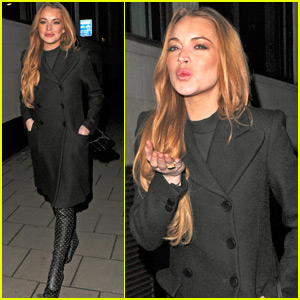 Lindsay Lohan Spends Time Working on Indie Flick 'The Shadow Within'