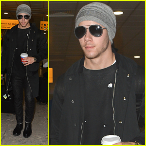 Nick Jonas Heads To London For Radio 1 Teen Awards