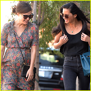 Olivia Munn Meets Pregnant Rose Byrne For Lunch In Los Angeles
