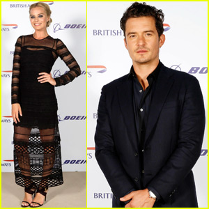 Orlando Bloom & Margot Robbie Jet to the United Arab Emirates