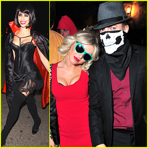 Julianne Hough Brings 'True Romance' To Life At Casamigos Halloween Bash