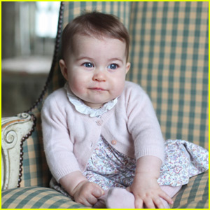 Royal Family Releases Cute New Photos of Princess Charlotte!