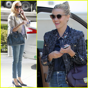 Reese Witherspoon Shows Her Support for Jessica Alba's Honest Beauty