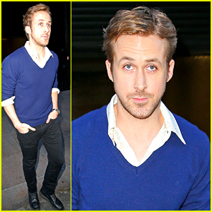Ryan Gosling May Be Headed To Space Soon | Ryan Gosling : Just Jared Ryan Gosling