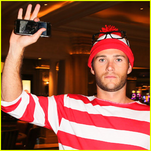 Scott Eastwood is One Hot 'Where's Waldo?' for Halloween!