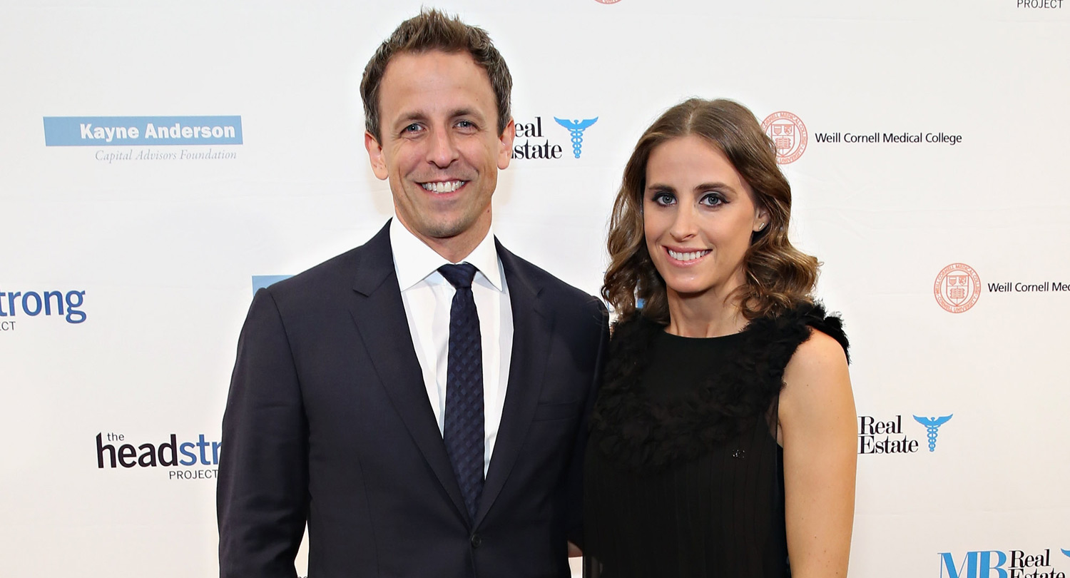 Seth Meyers' Wife Alexi Ashe Is Pregnant With Their First Child | Alexi Ashe, Seth Meyers : Just Jared