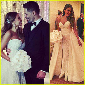 Sofia Vergara & Joe Manganiello's Wedding Photos - See Here!