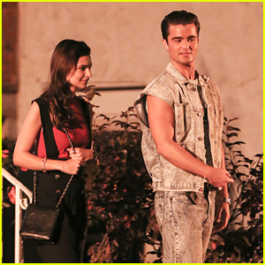 Emily Ratajkowski Films Night Scenes With Spencer Boldman on 'Cruise'
