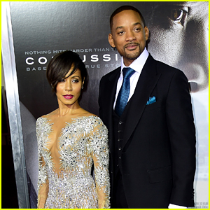 Will Smith & Jada Pinkett Smith Do Date Night at 'Concussion' Screening