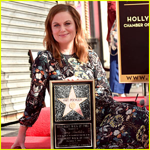 Amy Poehler Receives Her Star on the Hollywood Walk of Fame!