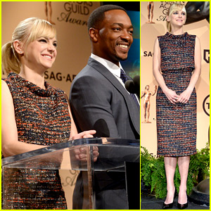 Anna Faris & Anthony Mackie Announce the SAG Awards Nominees 2016!