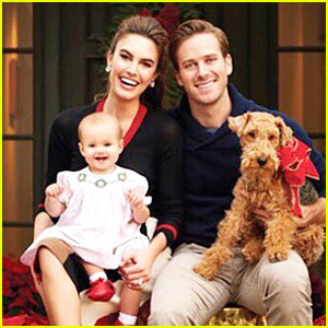 Armie Hammer's Family Christmas Photo is Picture Perfect!