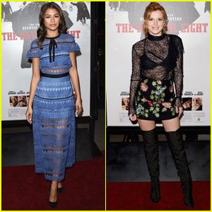 Zendaya Reunites With 'Shake It Up' Co-Star Bella Thorne