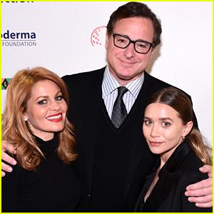 Ashley Olsen, Bob Saget, & Candace Cameron Bure Have a 'Full House' Reunion!