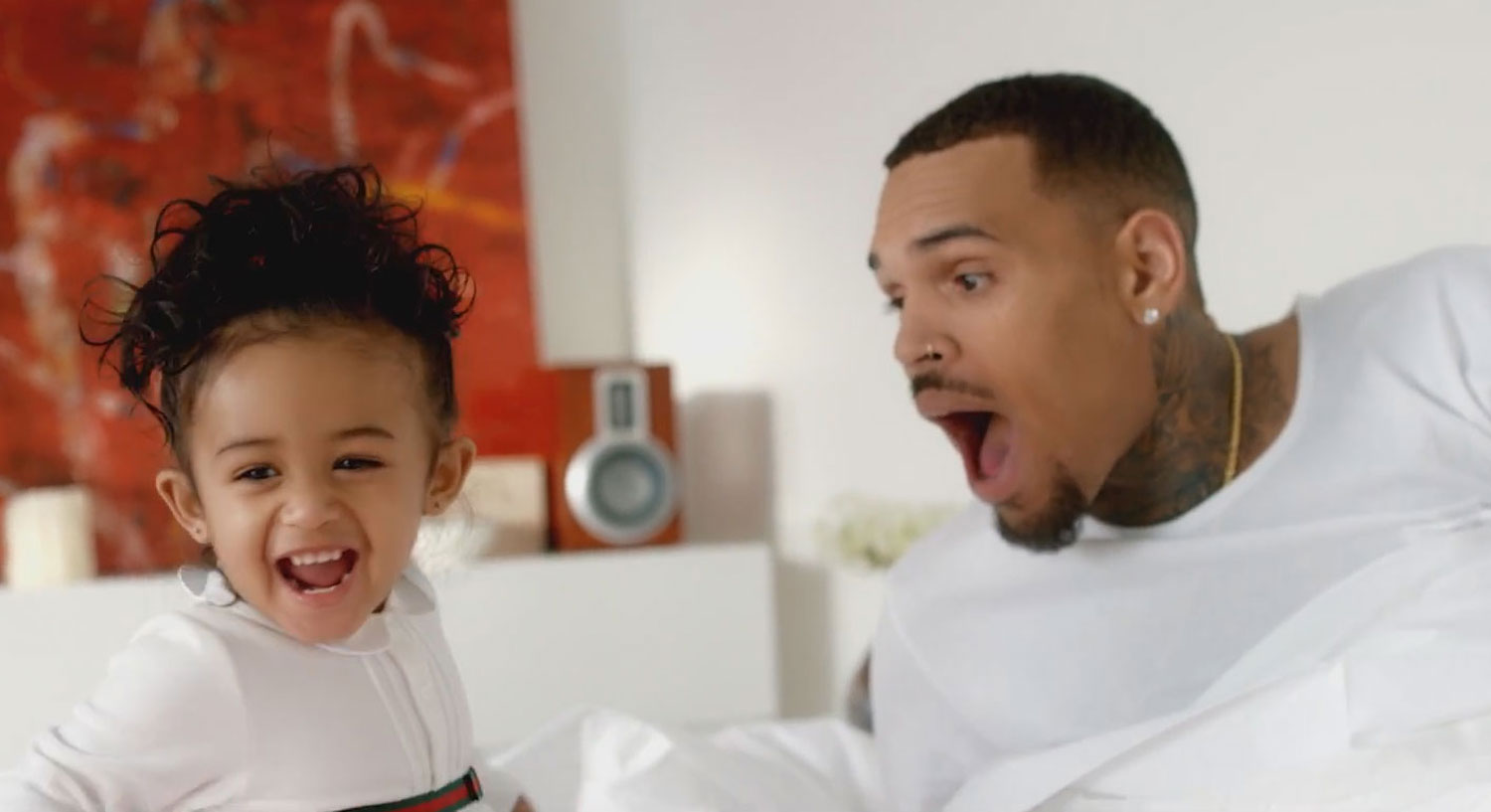 Chris Brown's Daughter Royalty Stars in 'Little More ...