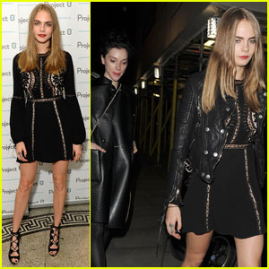 Cara Delevingne Goes Off on Paparazzi Again for Trying to Take Photos Under Her Skirt