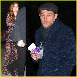 Charlie Hunnam & Amy Adams Attend Jennifer Klein's Star-Studded Holiday Party!
