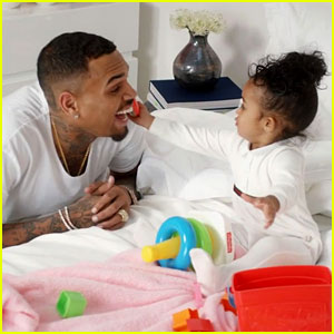 Chris Brown's Daughter Royalty Stars in 'Little More' Video!