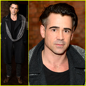 Colin Farrell Smolders At 'Room' Screening in London
