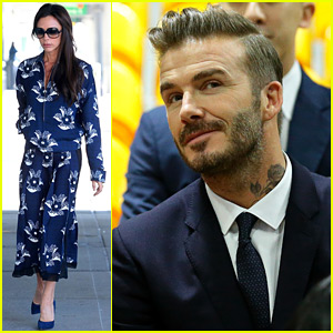 Remarkable David Beckhams Daughter Harper Is The Cutest Video David Hairstyles For Men Maxibearus