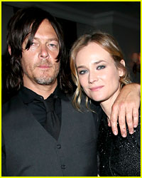 Diane Kruger & Norman Reedus Kissing Rumors Are Bogus