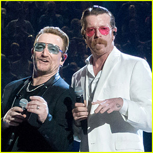 Eagles of Death Metal Take the Stage in Paris with U2 - Watch Now
