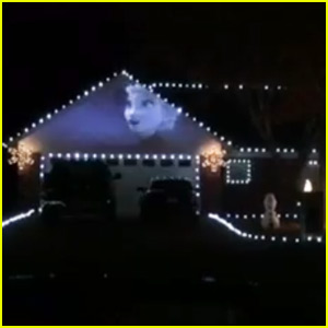 this frozen themed christmas light show wins the holiday watch now