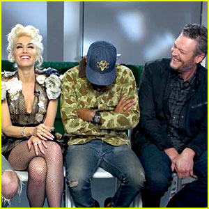 Gwen Stefani & Blake Shelton Asked About Dating in Joint Interview (Video)