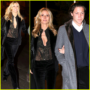 Heidi Klum Reunites with Vito Schnabel After the Holidays