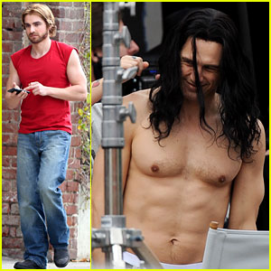James Franco Goes Shirtless, Flaunts Abs for 'Disaster Artist'