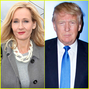 J.K. Rowling Slams Donald Trump, Compares Him to Voldemort