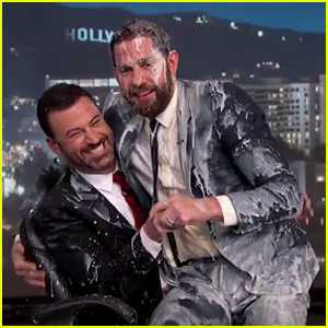 John Krasinski Gets Nogg'd with Eggnog During Jimmy Kimmel's Epic Holiday Prank War - Watch Now!