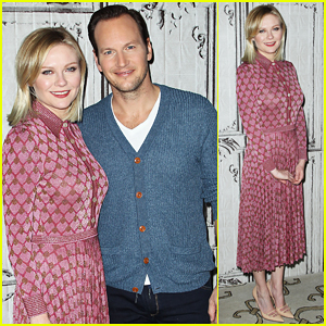 Kirsten Dunst & Patrick Wilson Hit NYC After Scoring Golden Globe Nominations!
