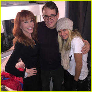 Kristin Chenoweth & Kathy Griffin Check Out Broadway's 'Sylvia'