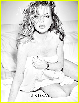 Lindsay Lohan Strips Down For Sexy New Mag Spread!