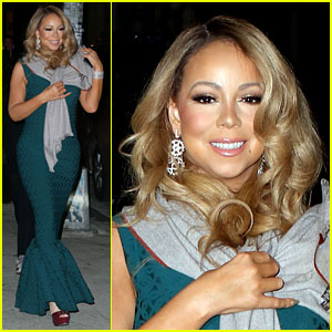 Mariah Carey Was 'Miss Christmas' on the Set of Her Hallmark Movie