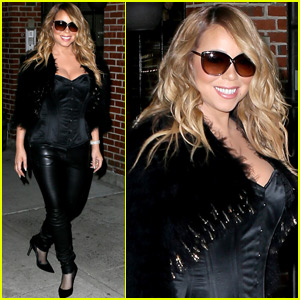 Mariah Carey Steps Out After Being Hospitalized With Severe Flu Symptoms