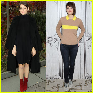 Marion Cotillard Continues to Promote 'Macbeth' in NYC