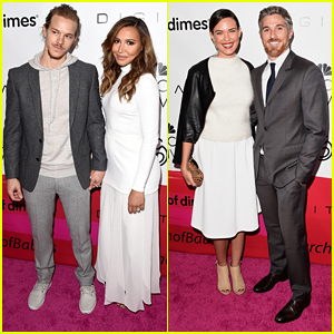 Naya Rivera Makes First Appearance as a New Mom At March Of Dimes Luncheon