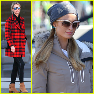 Paris Hilton Jets to Aspen While Sister Nicky Stays in L.A.