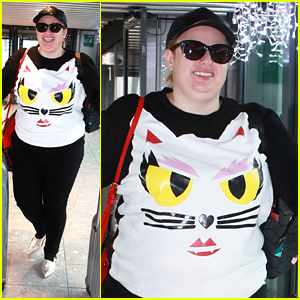 Rebel Wilson is Feeling Catty at the Airport