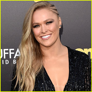 Ronda Rousey Keeps Promise, Attends Marine Corps Ball!