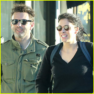 Sarah Silverman & Michael Sheen Hang Out Before Her 45th Birthday