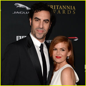 Sacha Baron Cohen & Isla Fisher Donate $1 Million to Help Syrian Refugees