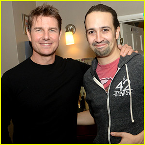 Tom Cruise Checks Out Broadway's Hit Musical 'Hamilton'!